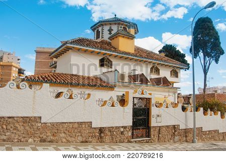 Segovia, Spain - February 11, 2017: Medieval Squere And Cathedral In The Old Historical Center Of Se