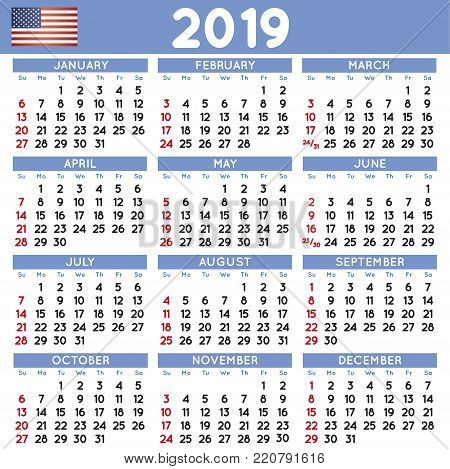 2019 elegant squared calendar in spanish year 2019 calendar calendar 2019 calendario 2019 week starts on monday