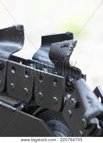 Trench digger industry detail machine for trenching