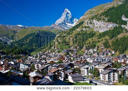 Matterhorn, Zermatt, Switzerland.