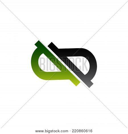 infinity symbol sign vector. illustration mobius strip. limitless Symbols logo design elements. infinite icon. business communication concept