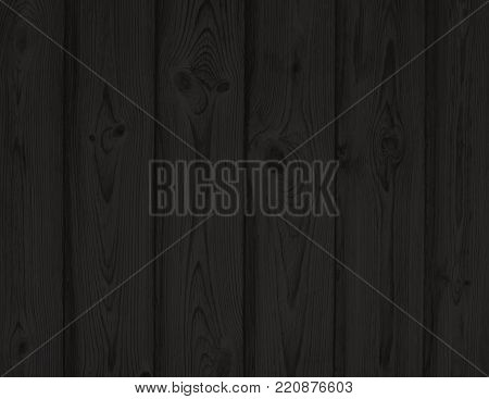 Dark Gray Woodgrain Pattern Textured Background