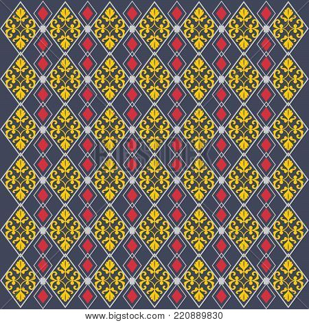 Abstract Tribal Pattern. African Lines Pattern. Seamless Ethnic Pattern with Lines. Colorful Pattern. Vector Pattern Set. Stripes Pattern. Vector Seamless Pattern.EPS 8,EPS 10