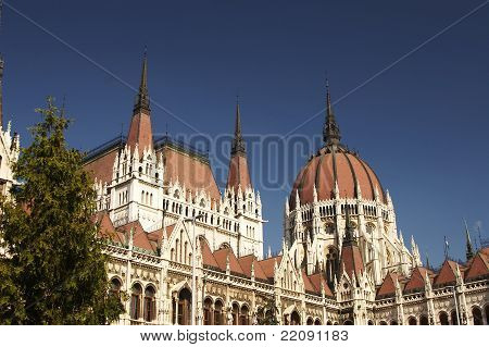 Hungarian House of Parliament in Budapest