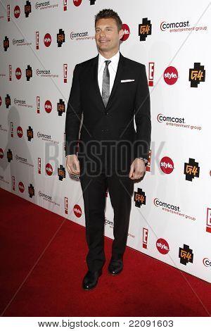 PASADENA - JAN 5: Ryan Seacrest at the Comcast Entertainment Group TCA Cocktail Reception held at the Langham Hotel, Pasadena, California on January 5, 2011