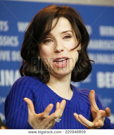 Actress Sally Hawkins attends the press conference  of 'Maudie' during the 67th Berlinale Film Festival Berlin at Grand Hyatt Hotel in Berlin, Germany on February 15, 2017