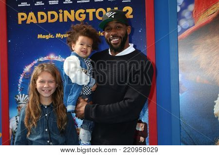 LOS ANGELES - JAN 6:  Stephen Boss, Family at the