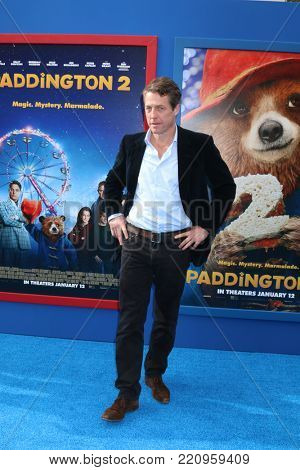 LOS ANGELES - JAN 6:  Hugh Grant at the