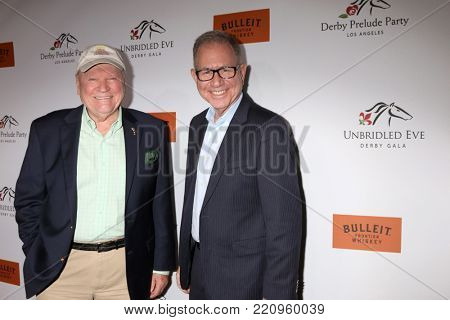 LOS ANGELES - JAN 5:  Conrad Bachmann, Alex Georgiev at the Unbridled Eve Derby Prelude Party Los Angeles at the Avalon on January 5, 2018 in Los Angeles, CA
