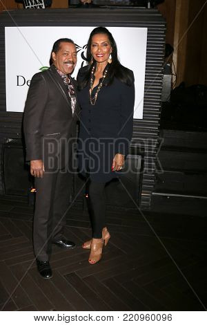 LOS ANGELES - JAN 5:  Obba Babatunde, Kathleen Bradley at the Unbridled Eve Derby Prelude Party Los Angeles at the Avalon on January 5, 2018 in Los Angeles, CA