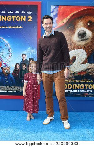 LOS ANGELES - JAN 6:  Brett Dalton, Daughter at the