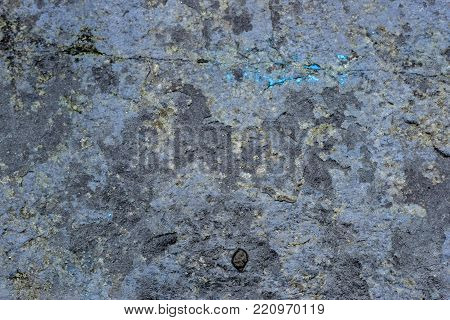 Blue shale stone close up abstract texture background