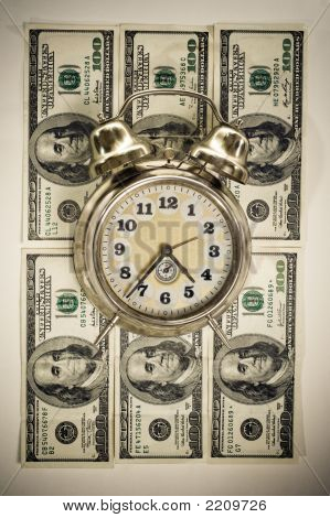 Time In Money Concept