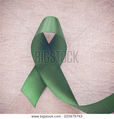 Green Ribbon, Cancer Awareness, Liver, Gallbladder Bile Duct Cancer Awareness, Hepatitis B Awareness