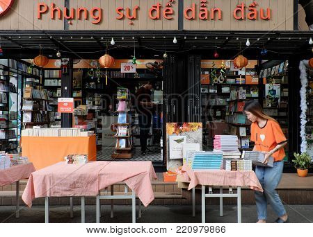 Bookstore At Ho Chi Minh City