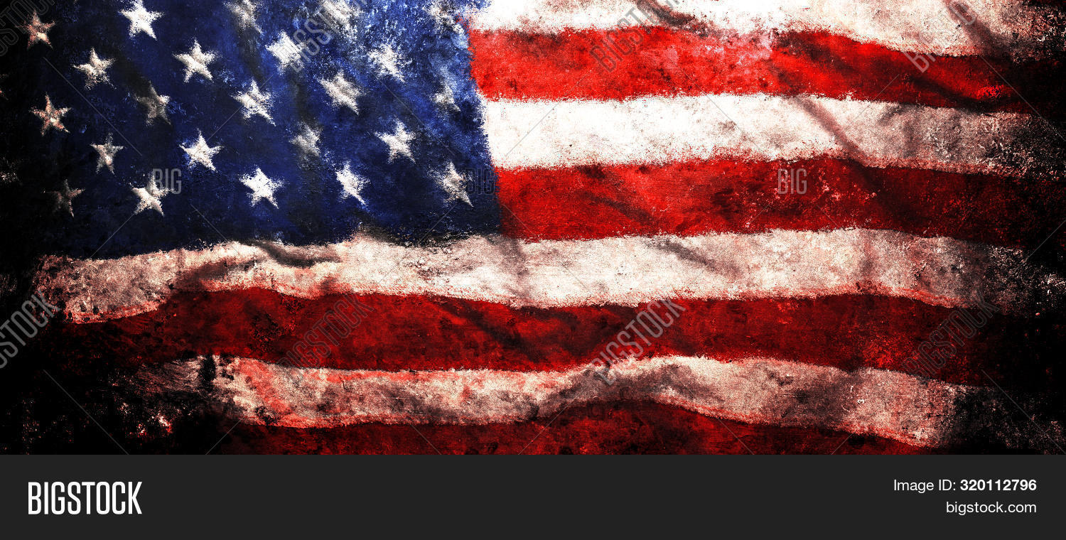 Rough Faded Us Image Photo Free Trial Bigstock