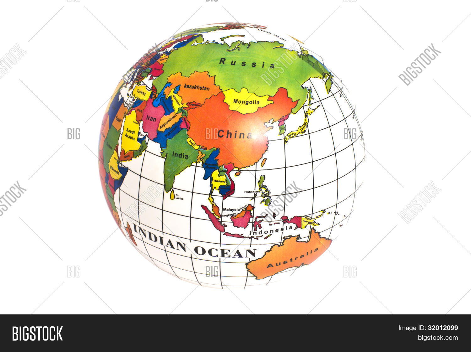 Map Of Eastern Hemisphere