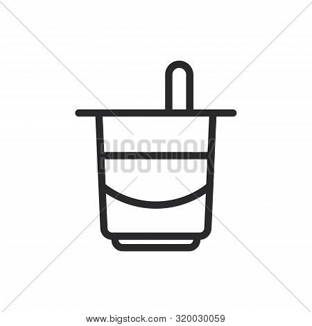Yogurt Icon Isolated On White Background. Yogurt Icon In Trendy Design Style For Web Site And Mobile