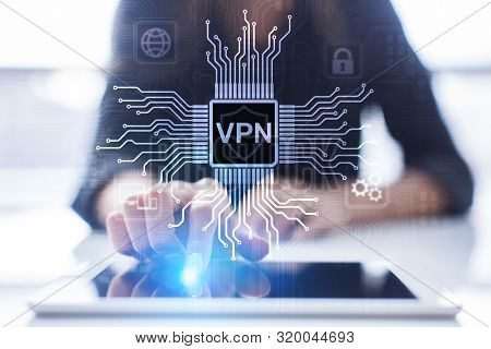 Vpn Virtual Private Network Internet Access Security Ssl Proxy Anonymizer Technology Concept Button
