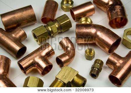 Copper and Brass Pipe Fittings