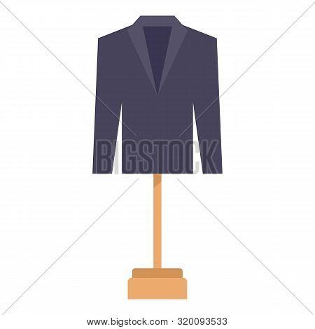 Man Blazer Icon. Flat Illustration Of Man Blazer Vector Icon For Web Design