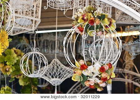 Classic decorative bird cage
