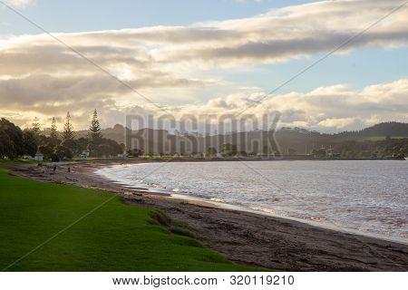 Morning At Paihia Beach, Bay Of Islands, Nz