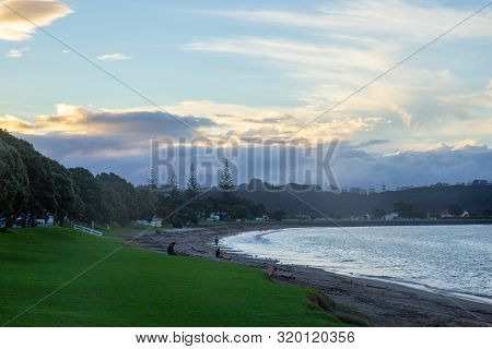 Morning At Paihia Beach, Bay Of Islands, Nz