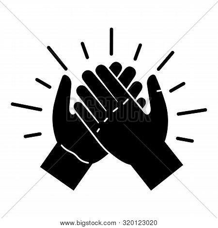 Brotherhood Handshake Icon. Simple Illustration Of Brotherhood Handshake Vector Icon For Web Design