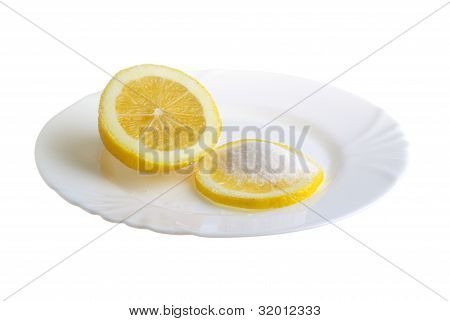 Limon On A Plate