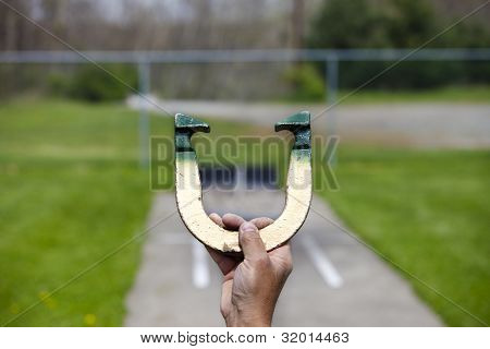 Pitching Horseshoe