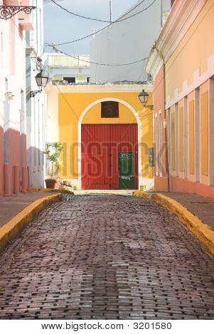 Old San Juan Street Scenes