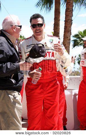 LOS ANGELES - APR 14:  Adam Carolla at the 2012 Toyota Pro/Celeb Race at Long Beach Grand Prix on April 14, 2012 in Long Beach, CA.