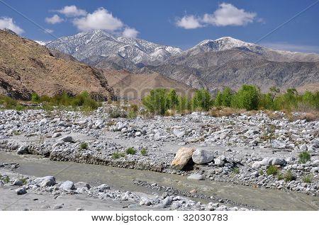 Winter Desert Hills