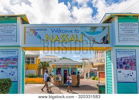 Nassau, Bahamas - September 2, 2019: Nassau And The Bahamas Was Pounded By Endless Rain And 185 Mph