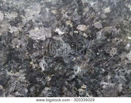 Granite Granitoids Rough Honed Surface Finished Wall, Floor Material Black And Gray Color Background