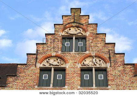 Bruges, gable