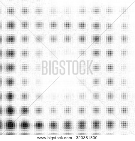 Black Halftone Abstract Background. Vector Modern Background For Posters, Brochures, Sites, Web, Car