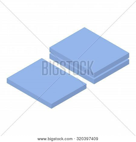 Hospital Mate Icon. Isometric Of Hospital Mate Vector Icon For Web Design Isolated On White Backgrou