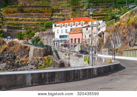 Landscape With Road To Seixal, Madeira Island, Portugal