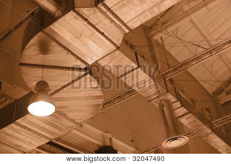 Factory ceiling