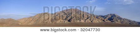 Wide Panoramic Of The Monte Cristo Mountains In Nevada