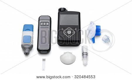 Modern Medical Accessories To Control Diabetes - Insulin Pump For Automatic Continuous Injecting, Re