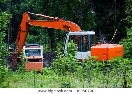 Heavy Duty Equipment Weed Control