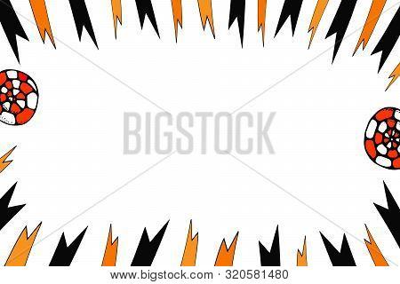 Helloween Vector Banner. Template For A Text