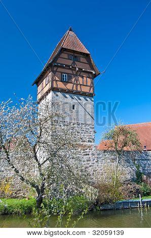 Dinkelsbuehl City Wall