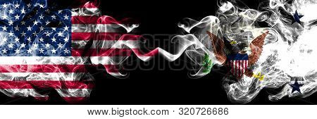 United States Of America, Usa Vs Vice President Of The United States State Background Abstract Conce