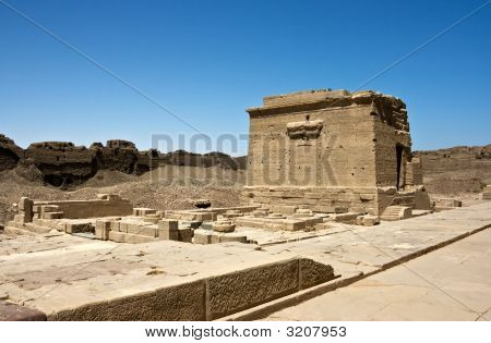 The Dendera temple near Luxor. Egypt. Africa. poster