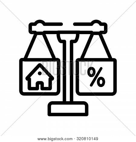 juridical icon from real estate collection on white background
