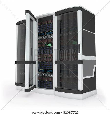 Three servers